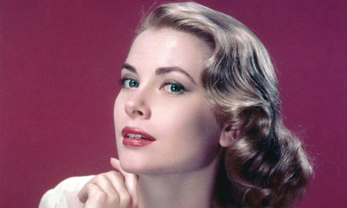 Grace Kelly: from serene screen beauty to serene highness.